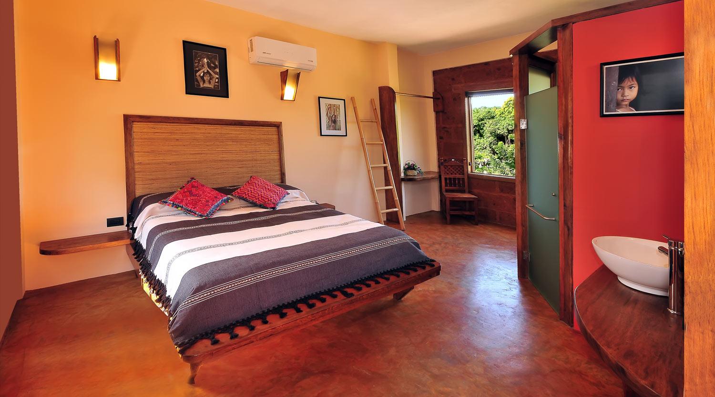 Cuartos dobles cuartos hotel casa san pancho for Planimetrie della casa con 2 master suite