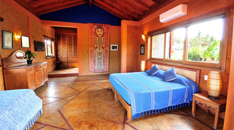 Master suite cuartos hotel casa san pancho for Case con 2 master suite